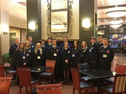FFA Members at National Convention
