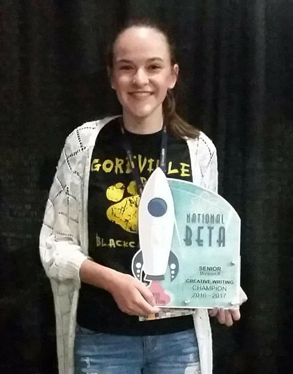 BENARD WINS NATIONAL BETA CLUB CHAMPIONSHIP!