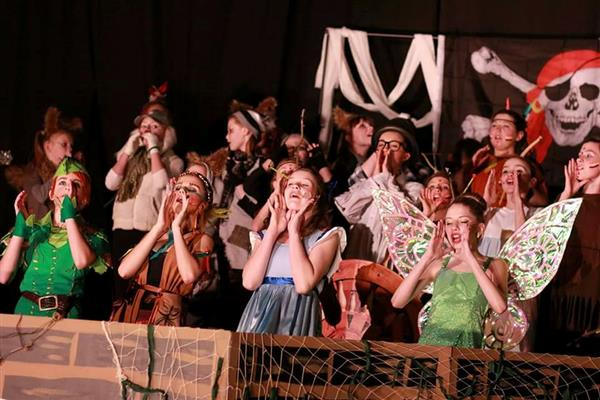 "GOREVILLE ELEMENTARY PRESENTS ""PETER PAN"""