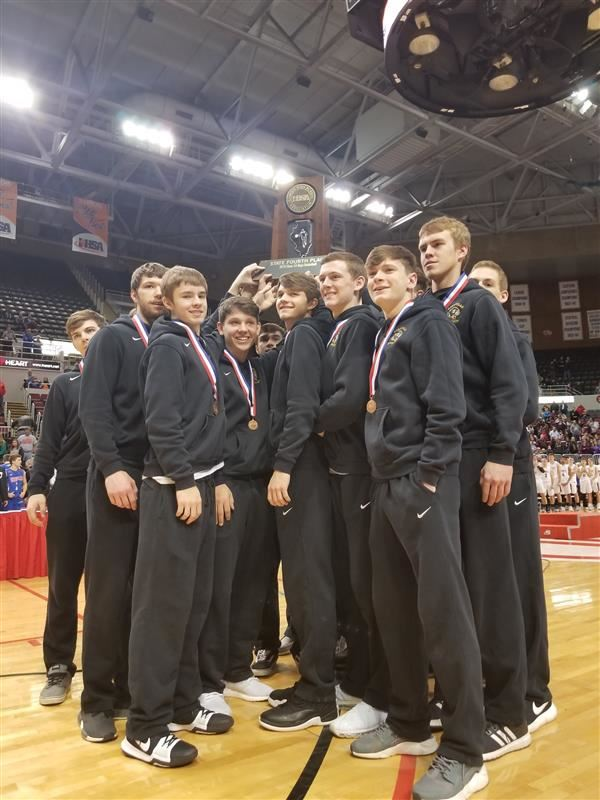 BLACKCATS TAKE 4TH IN STATE!